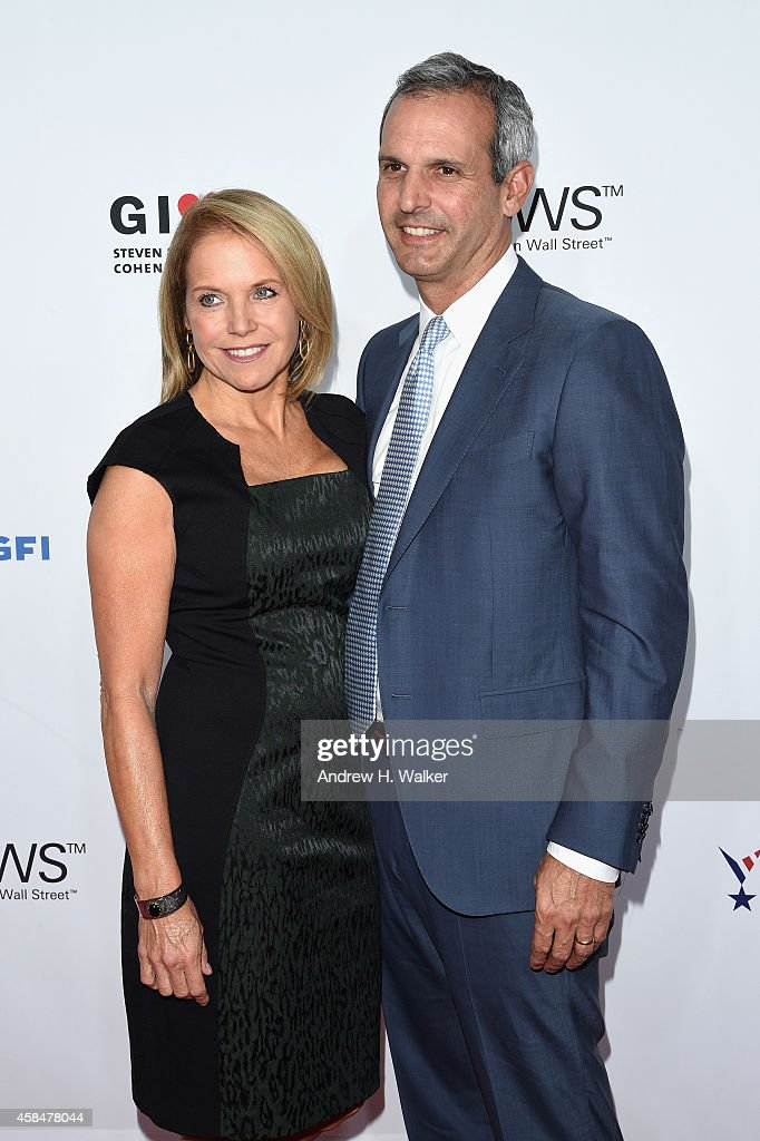 Katie Couric and John Molner attend 2014 Stand Up For Heroes at Madison Square Garden on November 5 2014 in New York City