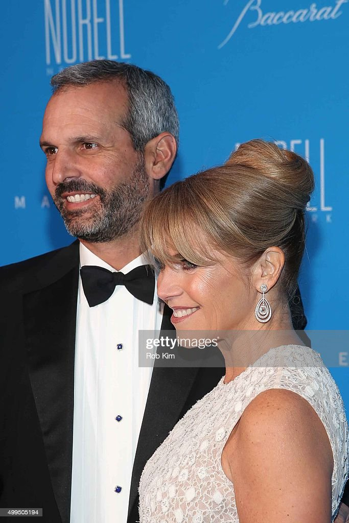 Katie Couric and John Molner attend 2015 UNICEF Snowflake Ball at Cipriani Wall Street on December 1 2015 in New York City
