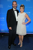 Katie Couric and John Molner attend the 11th Annual UNICEF Snowflake Ball Honoring Orlando Bloom Mindy Grossman And Edward G Lloyd at Cipriani Wall...