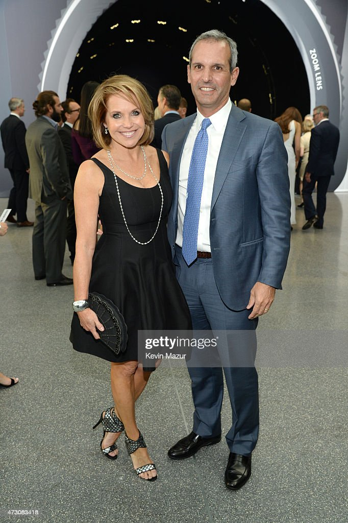 Katie Couric and John Molner attend The Robin Hood Foundation's 2015 Benefit at Jacob Javitz Center on May 12 2015 in New York City