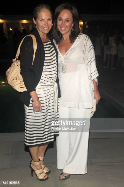 Katie Couric and Rosanna Scotto attend THE CINEMA SOCIETY with VANITY FAIR HUGO BOSS host the after party for 'DINNER FOR SCHMUCKS' at Private...