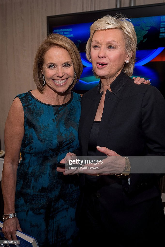 <a gi-track='captionPersonalityLinkClicked' href=/galleries/search?phrase=Katie+Couric&family=editorial&specificpeople=202633 ng-click='$event.stopPropagation()'>Katie Couric</a> and Tina Brown attend the 5th Annual Women In The World Summit at David H. Koch Theater, Lincoln Center on April 4, 2014 in New York City.