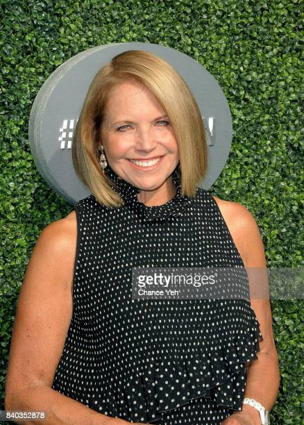 Katie Couric attends 17th Annual USTA Foundation opening night gala at USTA Billie Jean King National Tennis Center on August 28 2017 in the Queens...