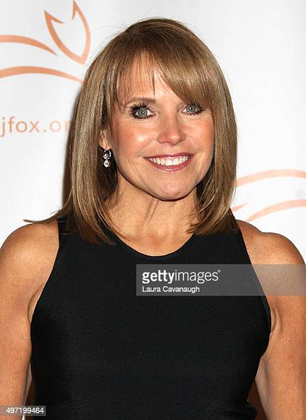 Katie Couric attends 2015 A Funny Thing Happened On The Way To Cure Parkinson's at The Waldorf=Astoria on November 14 2015 in New York City