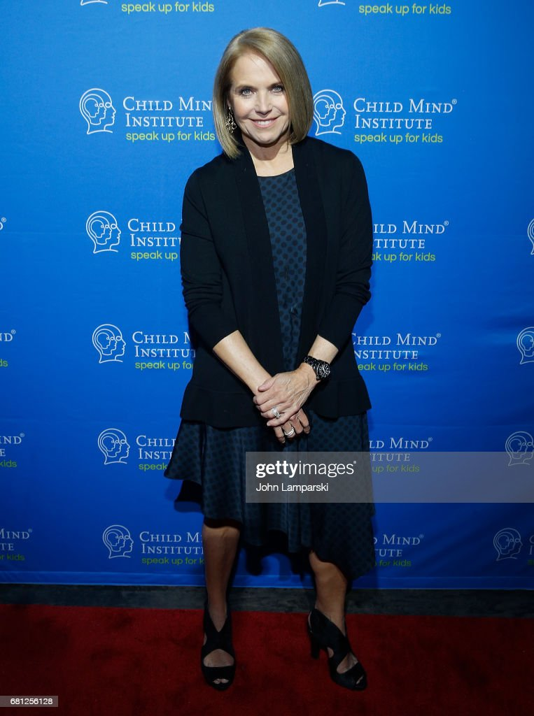 Katie Couric attends 2017 Child Mind Institute Change Maker Awards at Highline Ballroom on May 9, 2017 in New York City.