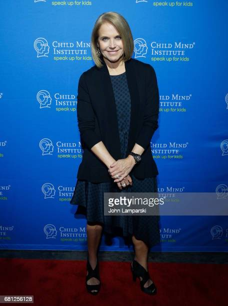 Katie Couric attends 2017 Child Mind Institute Change Maker Awards at Highline Ballroom on May 9 2017 in New York City