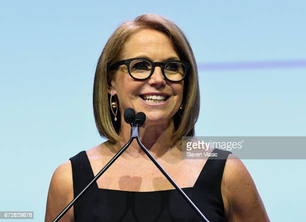 Katie Couric attends 2017 Matrix Awards at Sheraton New York Times Square on April 24 2017 in New York City