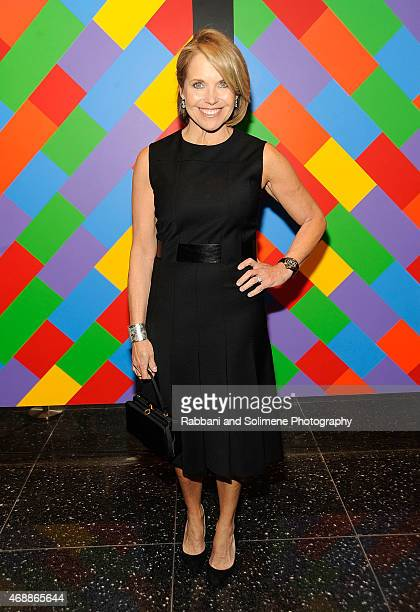 Katie Couric attends a special screening of Relativity Studio's 'Desert Dancer' at Museum of Modern Art on April 7 2015 in New York City