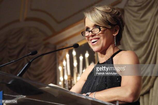 Katie Couric attends MUSEUM Of The MOVING IMAGE Dinner In Honor Of KATIE COURIC And PHIL KENT at St Regis Hotel on May 5 2010 in New York City