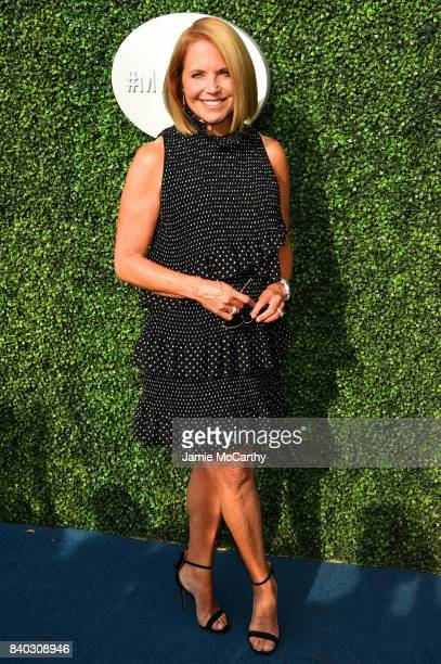 Katie Couric attends the 17th Annual USTA Foundation Opening Night Gala at USTA Billie Jean King National Tennis Center on August 28 2017 in the...