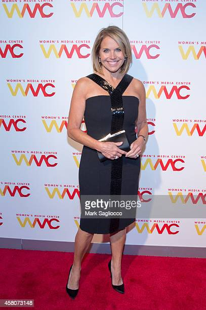 Katie Couric attends the 2014 Women's Media Awards at Capitale on October 29 2014 in New York City