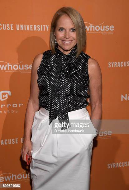 Katie Couric attends The 2017 Mirror Awards at Cipriani 42nd Street on June 13 2017 in New York City