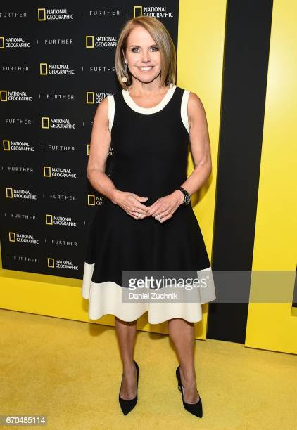 Katie Couric attends the 2017 National Geographic FURTHER FRONT at Jazz at Lincoln Center's Frederick P Rose Hall on April 19 2017 in New York City