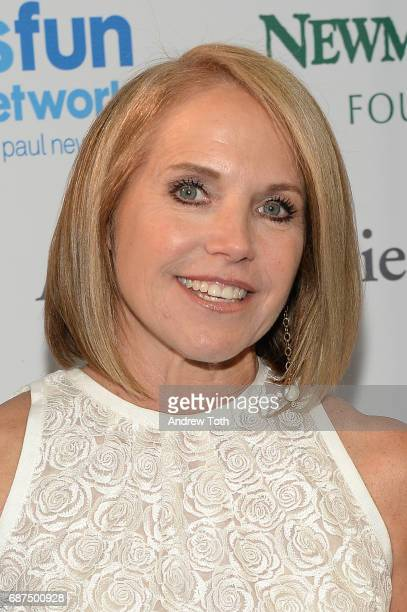 Katie Couric attends the 2017 SeriousFun Children's Network gala at Pier Sixty at Chelsea Piers on May 23 2017 in New York City
