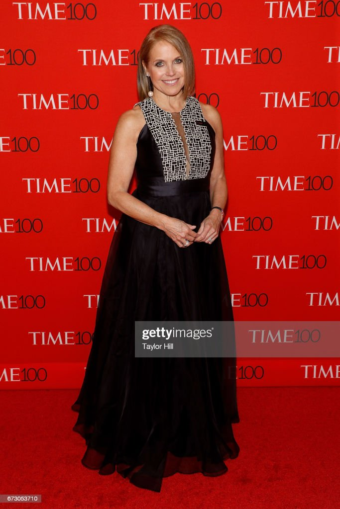 Katie Couric attends the 2017 Time 100 Gala at Jazz at Lincoln Center on April 25, 2017 in New York City.