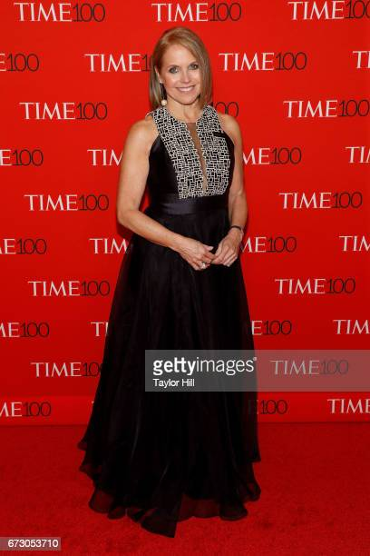 Katie Couric attends the 2017 Time 100 Gala at Jazz at Lincoln Center on April 25 2017 in New York City