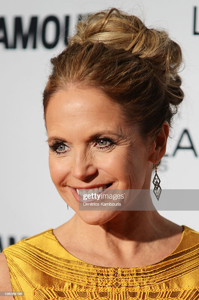 <a gi-track='captionPersonalityLinkClicked' href=/galleries/search?phrase=Katie+Couric&family=editorial&specificpeople=202633 ng-click='$event.stopPropagation()'>Katie Couric</a> attends the 22nd annual Glamour Women of the Year Awards at Carnegie Hall on November 12, 2012 in New York City.