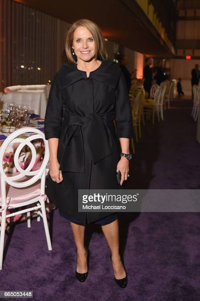 Katie Couric attends the Eighth Annual Women In The World Summit at Lincoln Center for the Performing Arts on April 5 2017 in New York City