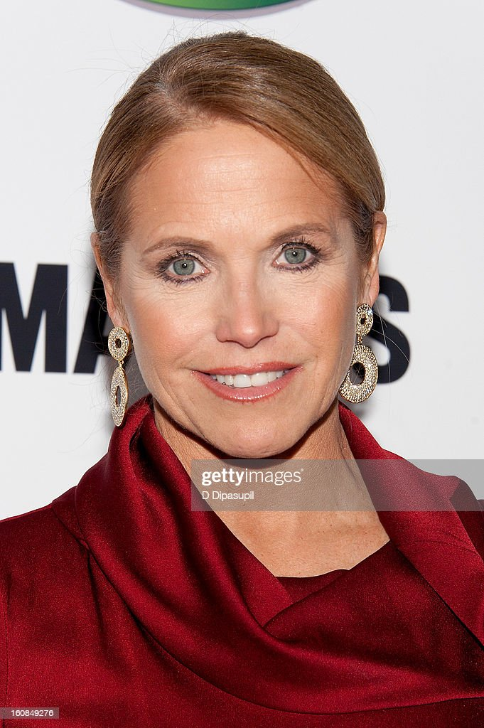 Katie Couric attends the 'MAKERS: Women Who Make America' New York Premiere at Alice Tully Hall on February 6, 2013 in New York City.