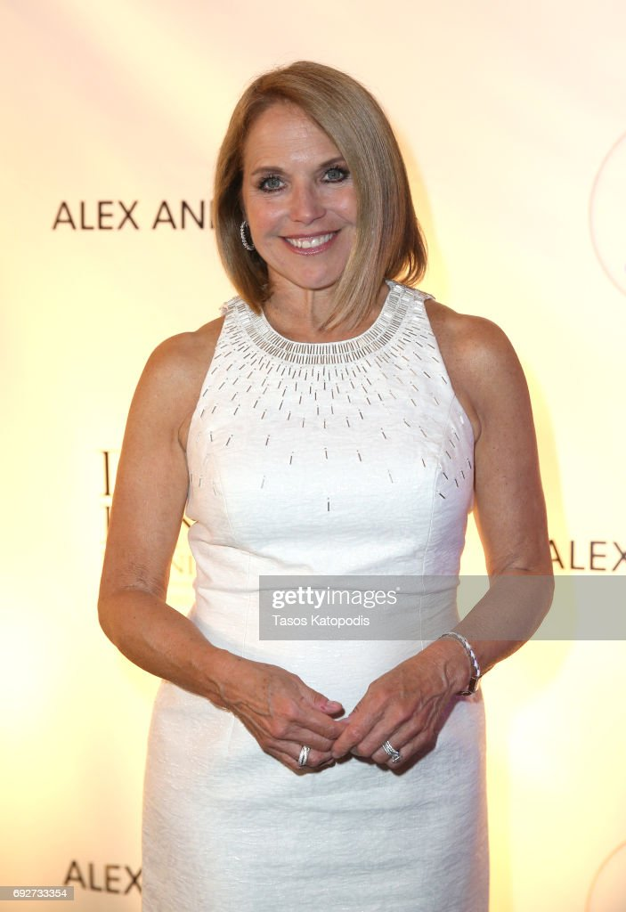 Katie Couric attends the National Night Of Laughter And Song event hosted by David Lynch Foundation at the John F. Kennedy Center for the Performing Arts on June 5, 2017 in Washington, DC.