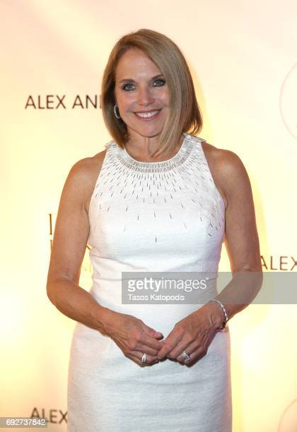 Katie Couric attends the National Night Of Laughter And Song event hosted by David Lynch Foundation at the John F Kennedy Center for the Performing...