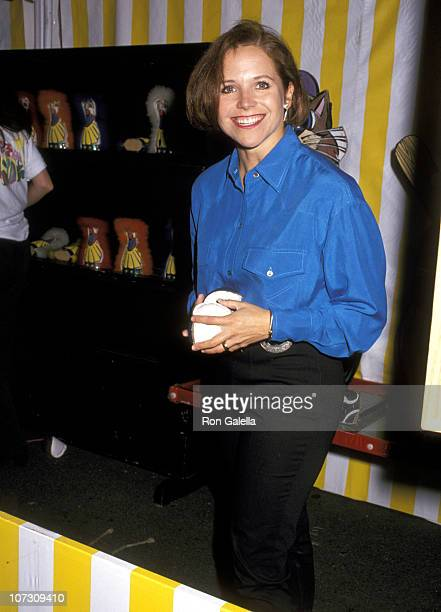 Katie Couric during 2nd Annual Kids Carnival for Pediatric AIDS Foundation at Industria Superstudio in New York City New York United States