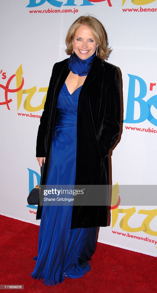 Katie Couric during Rubicon's 'Ben and Izzy' Gala with Special Host Her Majesty Queen Rania Al-Abdullah of Jordan at The Metropolitan Museum Of Modern Art in New York City, New York, United States.