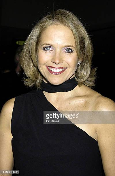 Katie Couric during The 12th Annual Broadcasting and Cable Hall of Fame Gala at Marriott Marquis Hotel in New York City New York United States