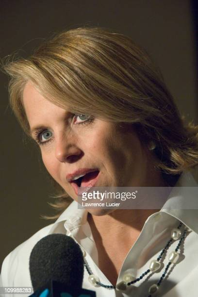Katie Couric during The 2006 Hugh O'Brian Youth Leadership Awards at Marriot Marquis in New York City New York United States