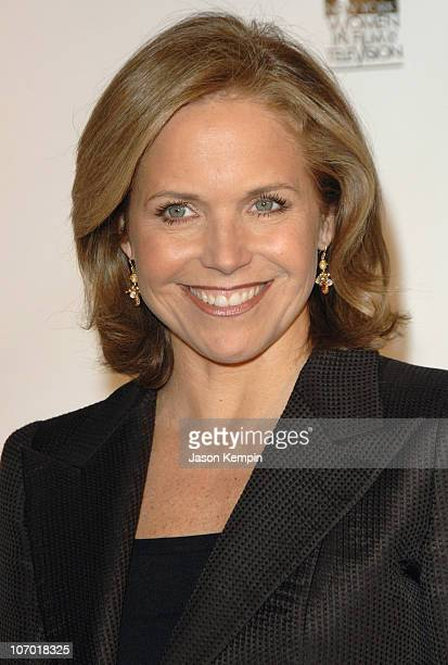 Katie Couric during The New York Women in Film and Television's 26th Annual Muse Awards December 14 2006 at The New York Hilton in New York City New...