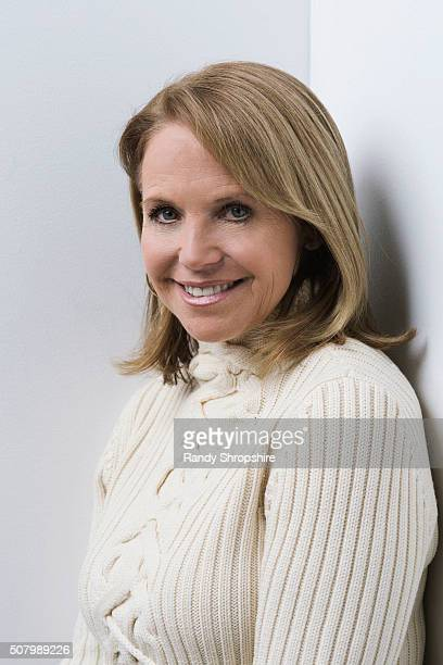 Katie Couric of 'Under the Gun' poses for a portrait at the 2016 Sundance Film Festival on January 26 2016 in Park City Utah