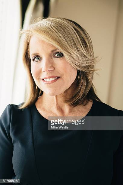 Katie Couric poses for a portrait during an interview promoting the EPIX Original Documentary 'Under The Gun' on May 3 2016 in Los Angeles California