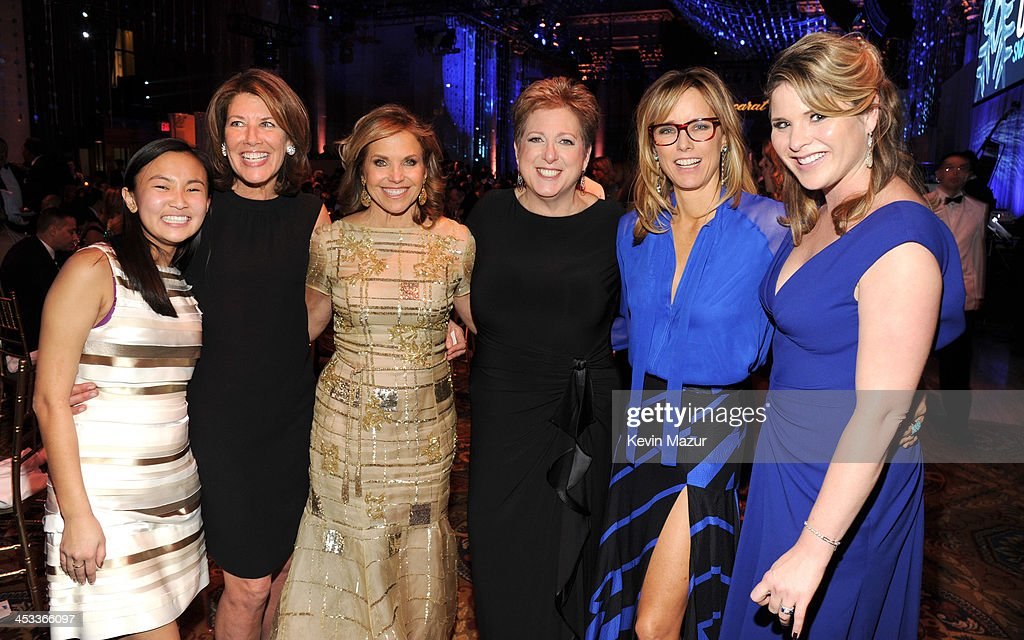 <a gi-track='captionPersonalityLinkClicked' href=/galleries/search?phrase=Katie+Couric&family=editorial&specificpeople=202633 ng-click='$event.stopPropagation()'>Katie Couric</a>, President and CEO US Fund UNICEF <a gi-track='captionPersonalityLinkClicked' href=/galleries/search?phrase=Caryl+Stern&family=editorial&specificpeople=4205668 ng-click='$event.stopPropagation()'>Caryl Stern</a>, <a gi-track='captionPersonalityLinkClicked' href=/galleries/search?phrase=Tea+Leoni&family=editorial&specificpeople=204720 ng-click='$event.stopPropagation()'>Tea Leoni</a> and <a gi-track='captionPersonalityLinkClicked' href=/galleries/search?phrase=Jenna+Bush+Hager&family=editorial&specificpeople=175840 ng-click='$event.stopPropagation()'>Jenna Bush Hager</a> attend The Ninth Annual UNICEF Snowflake Ball at Cipriani, Wall Street on December 3, 2013 in New York City.