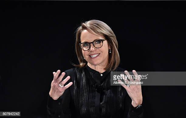 Katie Couric speaks at the 2016 MAKERS Conference at Terranea Resort on February 1 2016 in Rancho Palos Verdes California