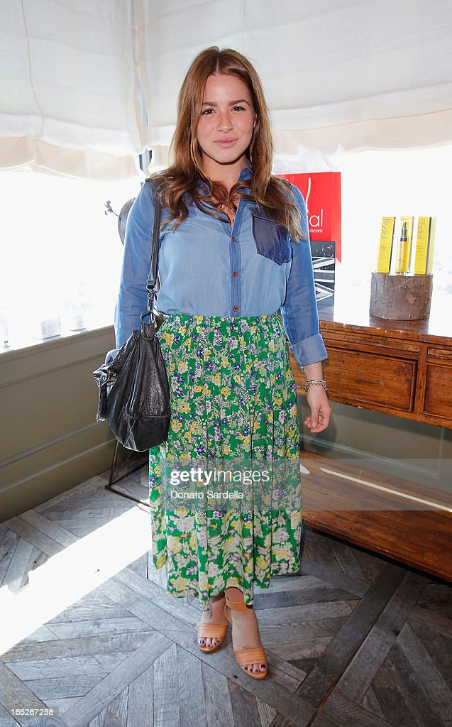 Katie Danza of Zoe Report attends the Rodial 10th Anniversary Luncheon on April 2, 2013 in West Hollywood, California.