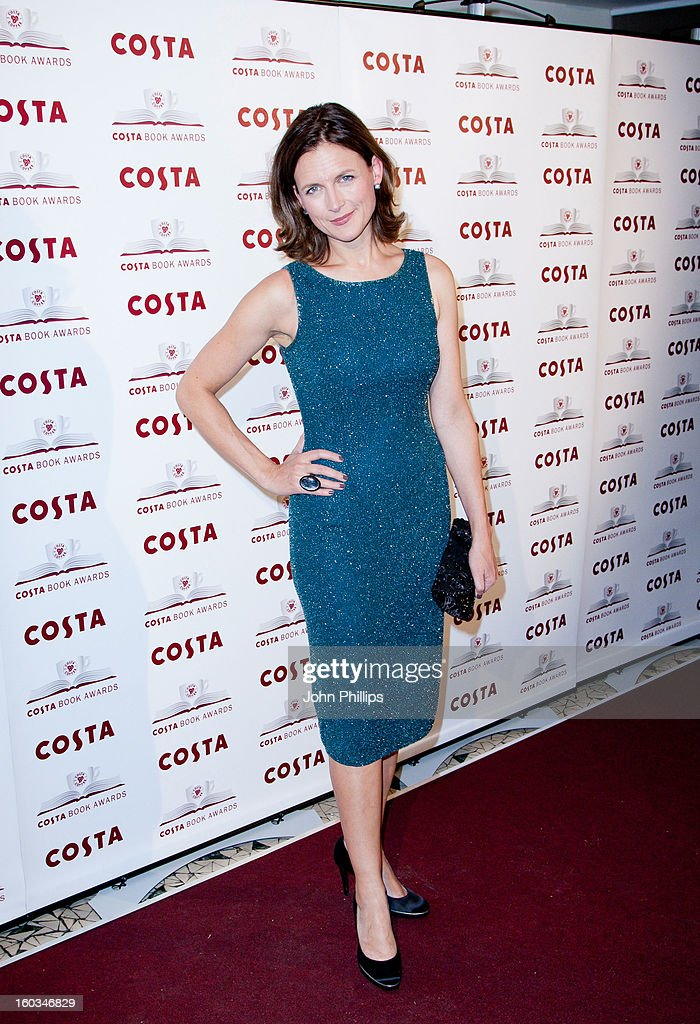 Katie Derham attends the Costa Book of the Year awards at Quaglino's on January 29, 2013 in London, England.