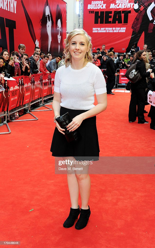 Katie Dippold attends a gala screening of 'The Heat' at The Curzon Mayfair on June 13, 2013 in London, England.
