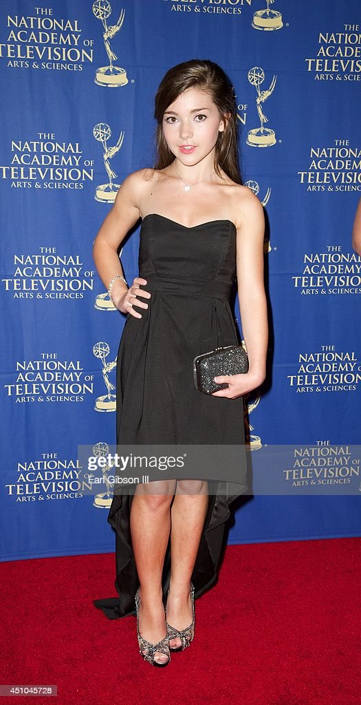 Katie Douglas attends the Daytime Creative Arts Emmy Awards Gala at the Westin Bonaventure Hotel on June 20 2014 in Los Angeles California