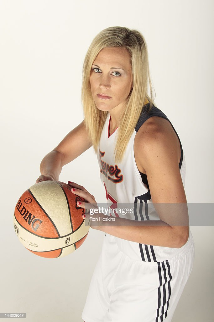 <a gi-track='captionPersonalityLinkClicked' href=/galleries/search?phrase=Katie+Douglas&family=editorial&specificpeople=213099 ng-click='$event.stopPropagation()'>Katie Douglas</a> #23 of the Indiana Fever poses for a portrait during the Indiana Fever Media Day at Bankers Life Fieldhouse on May 7, 2010 in Indianapolis, Indiana.