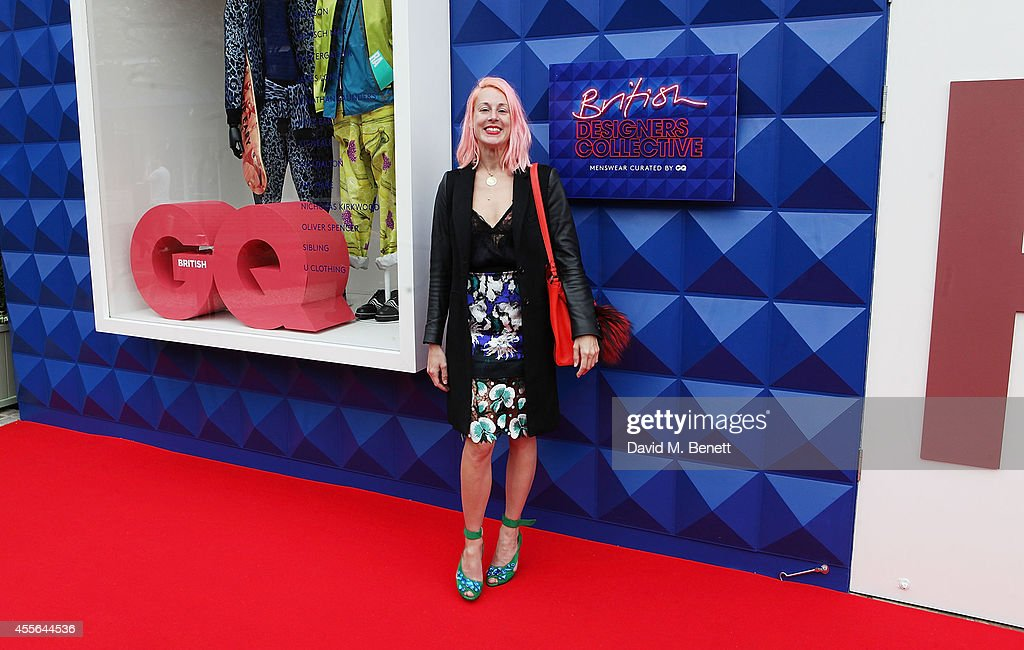 Katie Eary attends the official opening of British Designers' Collective Menswear curated by GQ at Bicester Village on September 18 2014 in Bicester...