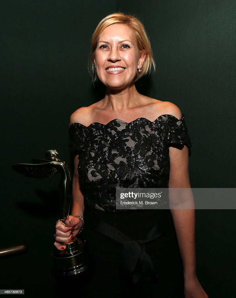 Katie Fico is being honored during the 2014 International 3D and Advanced Imaging Society's Creative Arts Awards at the Steven J. Ross Theatre, Warner Bros. Studios on January 28, 2014 in Burbank, California.