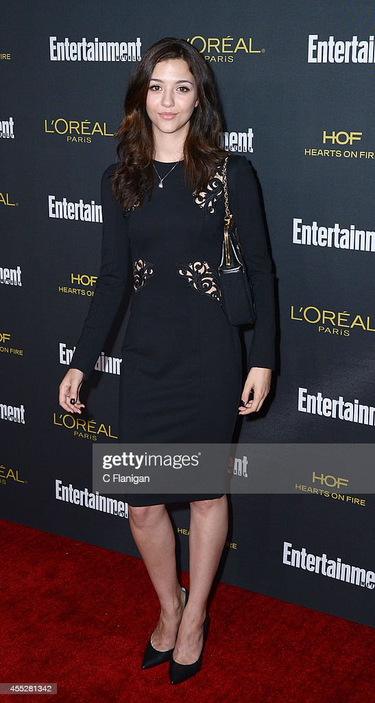Katie Findlay attends the 2014 Entertainment Weekly Pre-Emmy Party at Fig & Olive Melrose Place on August 23, 2014 in West Hollywood, California.