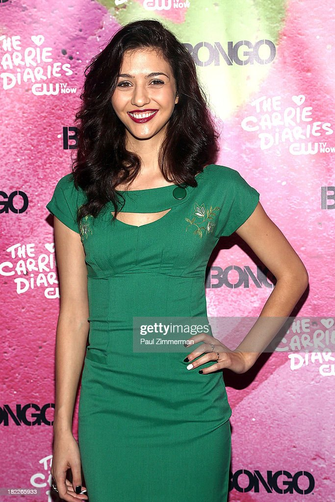 Katie Findlay attends 'The Carrie Diaries' Season Two Premiere Party at Gansevoort Park Avenue on September 28, 2013 in New York City.