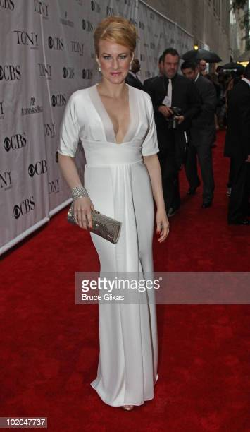 Katie Finneran attends the 64th Annual Tony Awards at Radio City Music Hall on June 13 2010 in New York City