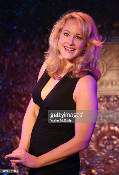 Katie Finneran during a press preview of her show 'It Might Be You A Funny Lady's Search for Home' at 54 Below on May 9 2014 in New York City