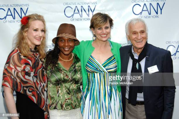 Katie Finneran Suzzanne Douglas Cady Huffman and Dick Latessa attend 2010 Annual Gala Creative Alternatives of New York 'BROADWAY AT THE...