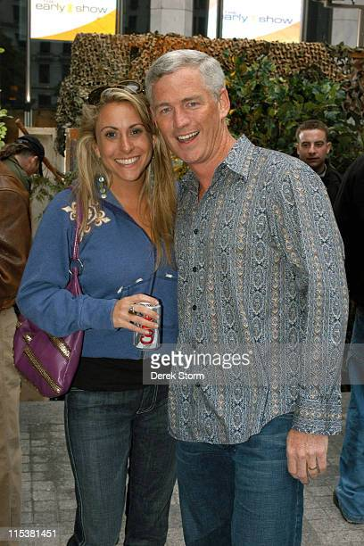 Katie Gallagher and Tom Westman during 'Survivor' Winner Tom Weston and the Cast of 'Everybody Loves Raymond' Visit 'The Early Show' May 16 2005 at...