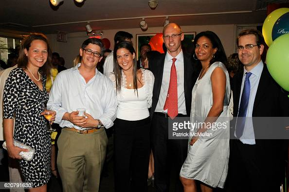 Katie Ginsburg Ignacio Fonciaas Leslie Bettison Jamie Bell CeCe Kurzman and Kevin Brandmeyer attend 'PARTY FAVORS' by Nicole Sexton Book Release...