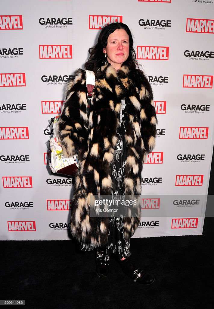 <a gi-track='captionPersonalityLinkClicked' href=/galleries/search?phrase=Katie+Grand&family=editorial&specificpeople=783491 ng-click='$event.stopPropagation()'>Katie Grand</a> attends the Marvel and Garage Magazine New York Fashion Week Event on February 11, 2016 in New York City.