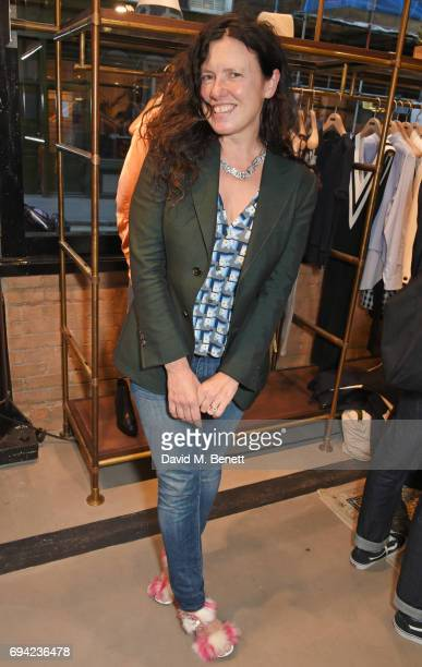 Katie Grand attends the Rag Bone London flagship store opening on June 9 2017 in London England